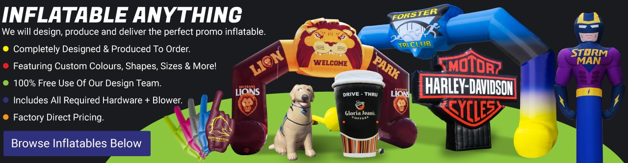 Custom Advertising Inflatables